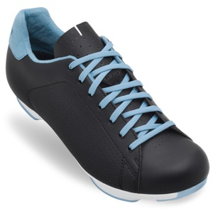 Giro Civila Women's Road Shoe - Black/White/Milky Blue
