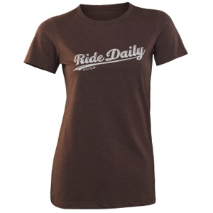 Club Ride Women's Ride Daily Tee - Expresso