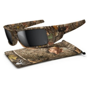 Oakley GasCan Sunglasses - Woodland Camo/Black Iridium