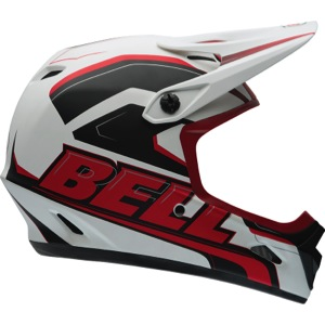 Bell Transfer-9 Helmet 2016 - Matte White/Red Setup