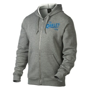 Oakley The Hero Fleece Hoodie - Heather Grey
