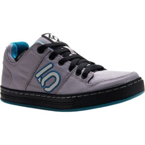 Five Ten Freerider Canvas Women's Flat Shoe - Gray/Teal