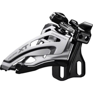 Shimano FD-M8020 E2 Type XT Double Derailleur - 2 x 11 Speed Side Swing