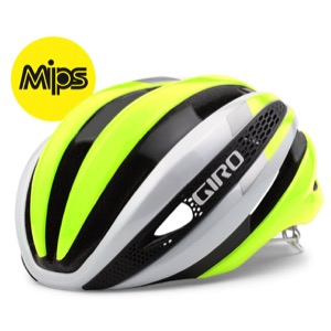 Giro Synthe MIPS Helmet 2017 - White/Highlight Yellow