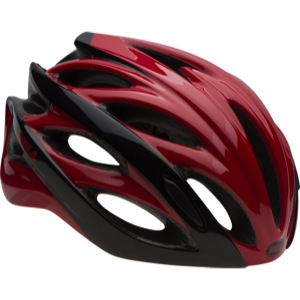 Bell Overdrive Helmets 2016 - Red/Black Hyperdrive