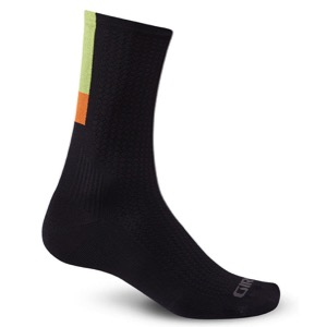 Giro HRc Team Socks 2016 - Black/Bright Lime
