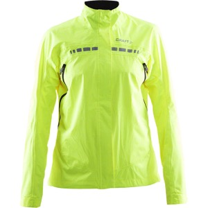 Craft Women's Escape Rain Jacket - High Vis Yellow