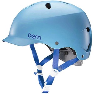 Bern Lenox Helmet 2017 - Satin Light Blue