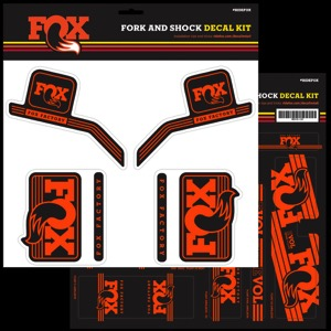 Fox Racing Shox Heritage Decal Sets 2017
