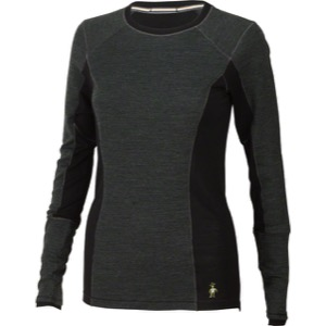 Smartwool PhD Light Women's Long Sleeve Top - Charcoal Heather