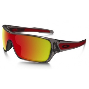 Oakley Turbine Rotor Sunglasses - Gray Ink/Ruby Iridium