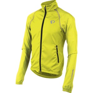 Pearl Izumi Elite Barrier Convertible Jacket 2017 - Screaming Yellow