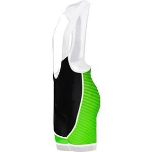 Primal Wear Frequency EVO Men's Bib Short - Green/Black/White