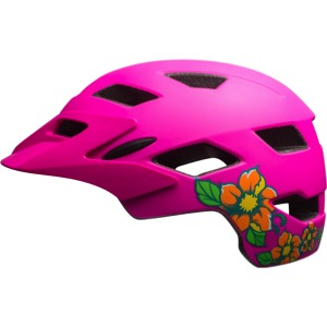 Bell Sidetrack Child Helmet 2017 - Matte Pink Blossom