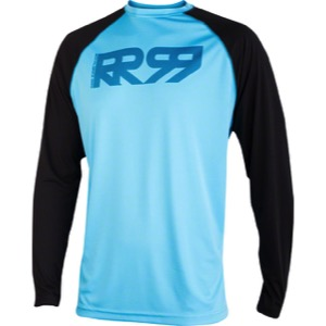 Royal Core LS Jersey - Sky Blue/Black