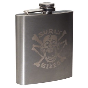 Surly Stainless Hip Flask 2017