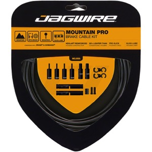 Jagwire MTN Pro Brake Cable/Housing Set - Slick Polished Inner Cables