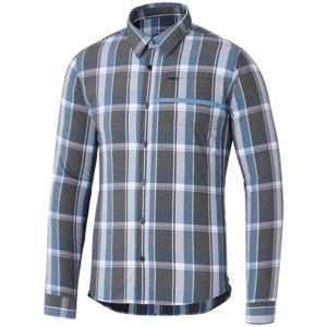 Shimano Transit Check Button Down Shirt 2018 - Aegean Blue