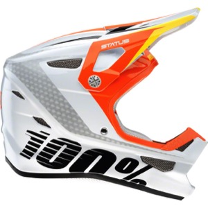 100% Status Full-Face Youth Helmet - D-Day White