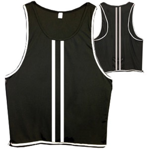 Cycle Aware Reflect+ Unisex Vest - Black/Stripes