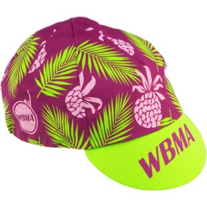 All-City WBMA Cycling Cap - Pink/Green