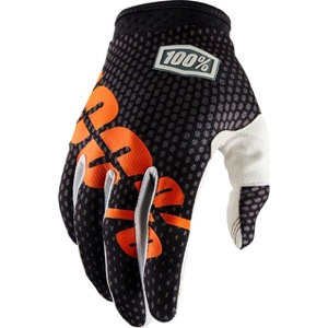 100% iTrack Gloves 2018 - Charcoal