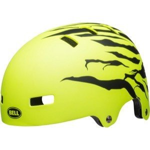 Bell Span Youth Helmet 2018 - Matte Retina Sear/Black Stoked
