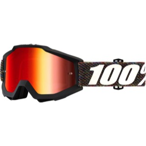100% Accuri Goggles - Krick/Mirror Red Lens