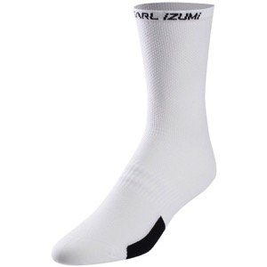 Pearl Izumi Elite Tall Socks 2019 - PI Core White