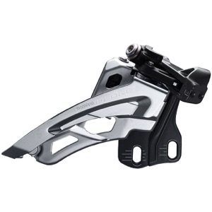 Shimano FD-M6000-E Deore E2 Triple Frnt Derailleur - 2 x 10 Speed Side Swing