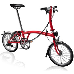 Brompton S6L Complete Bike - Red