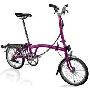 Brompton H6R Complete Bike - Berry Crush