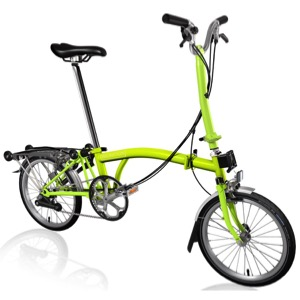 Brompton H6R Complete Bike - Lime Green