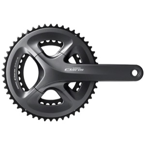 Shimano FC-R2000 Claris Double Cranksets - 8 Speed