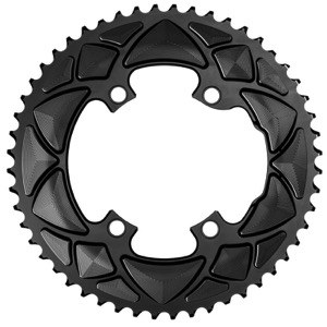 AbsoluteBlack Shimano Asym 2x Round Chainrings - 4 x 110mm BCD