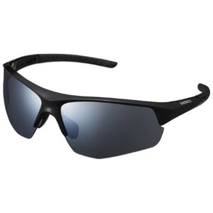 Shimano Twinspark Sunglasses 2019 - Black/Smoke Silver Mirror
