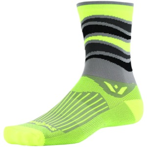 Swiftwick Vision Five Socks - Wave Gray
