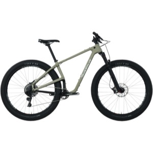Salsa Woodsmoke Carbon GX1 29+ Complete Bike - Khaki/Black