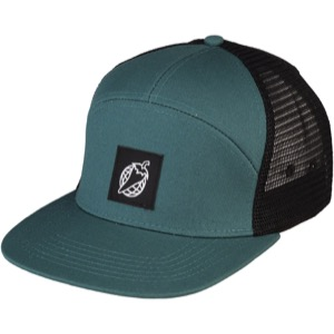 ab699dbe Universal Cycles -- Salsa Pepper Globe Trucker Snapback Hat - Green/Black [ 06-001707]