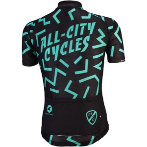 192aeb86f5f Universal Cycles -- All-City The Max Men s Jersey - Black Mint  09-000523