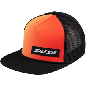 5cf4e07a Universal Cycles -- Salsa Devour Sunset Snapback Hat - Red/Yellow/Black [06 -001720]