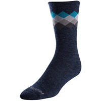 Pearl Izumi Merino Thermal Socks 2020 - Navy/Teal Solitaire