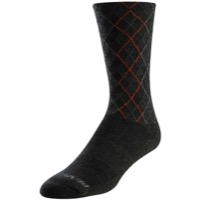 Pearl Izumi Merino Thermal Socks 2020 - Forest/Flame Crossing