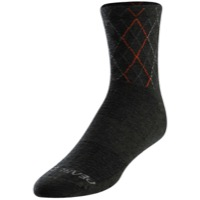 Pearl Izumi Merino Socks 2020 - Forest/Flame Crossing