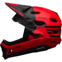 Bell Super DH MIPS Helmet 2020 - Fasthouse Matte Red/Black