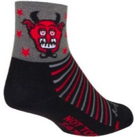 SockGuy NOT TODAY Socks - Black/Grey/Red