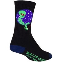 SockGuy Probe Crew Socks - Black
