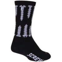 SockGuy Screw It Crew Socks - Black