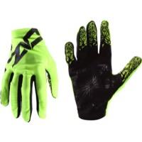 Pair Short Finger Gloves Supacaz M Platinum SupaG Twisted