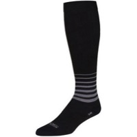 "SockGuy SGX Blackout 12"" Socks - Black"